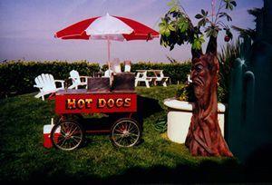Carnival hot dog cart