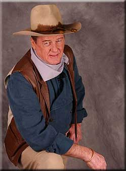 John Wayne look-alike