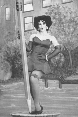 Betty Boop look-alike