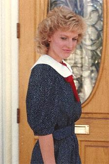 Princess Diana look-alike