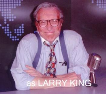 Larry King look-alike