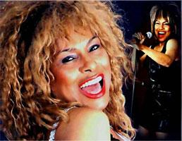 Tina Turner impersonator